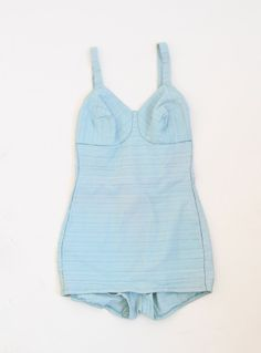 Vintage 1940's Baby Blue Swimsuit