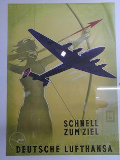 Schnell zum Ziel -- Fast to your destination Deutsche Lufthansa