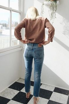 Levi's 711 Super Skinny High Rise