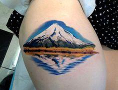 Mt Taranaki tattoo by Pepa from Bohemian Tattoo Arts, , New Zealand tattoo, Ink Tattoos Mandala, Tattoos Geometric, Forearm Tattoos, Finger Tattoos, Octopus Tattoos, Colorado Tattoo, Trendy Tattoos, Unique Tattoos, New Tattoos