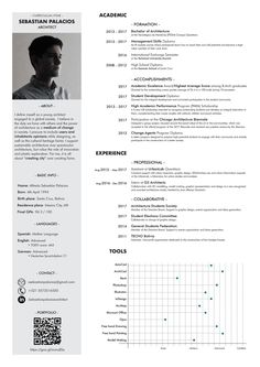 Architecture CV by Sebastian Palacios - Issuu Architecture Student, Architecture Portfolio, Resume Architecture, Architectural Cv, Student Society, Architect Logo, Architect House, Cv Template, Templates