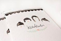 Klatschtanten - Freundebuch für große Mädchen von bär von pappe auf DaWanda.com