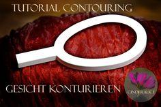 Tutorial Contouring by Face Shape. Makeup stencil Cinderalice. Stephanie und Wieland von Westernhagen, makeup contouring stencil Cinderalice.