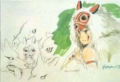 Hayao Miyazaki, Studio Ghibli Films, Art Studio Ghibli, Totoro, Film Animation Japonais, Japanese Animated Movies, Film D'animation, Illustration, Concept Art