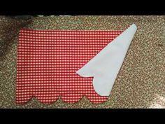 Come realizzare le tendine a vetro - YouTube
