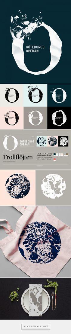 Brand New: New Logo and Identity for Göteborgsoperan by Happy F&B