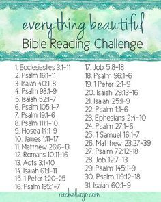 Everything Beautiful Bible Reading Challenge Bible Prayers, Bible Scriptures, Bible Quotes, Daily Bible Verses, Daily Bible Devotions, Bff Quotes, People Quotes, Lyric Quotes, Movie Quotes