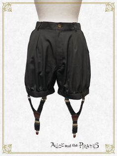 Prince Kokoro Gymnasium Short Pants with Garters [build-to-order manufacturing]