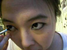 Visual Kei Eyeliner Makeup (UNDER 3 MINS) - http://www.thehowto.info/visual-kei-eyeliner-makeup-under-3-mins/