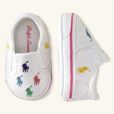 Ralph Lauren Polo Pony Slip On Shoes