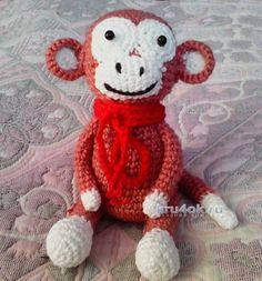 cârlig maimuță.  Locul de muncă Anna tricotat și schema de croșetat