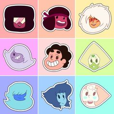 Crystal Gems Points by Mokka Quill on Tumblr