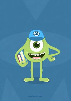 Mike - Monster University » by *hotamr