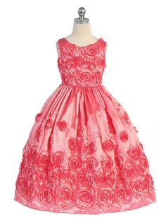 Designer Girls Clothing-size 4-14 Flowers Girls Dresses Dresses