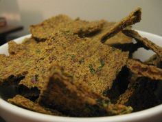 Dehydrated Juice Pulp Crackers (Vegan and Raw) - Now I have a use for all of my veggie juice pulp!