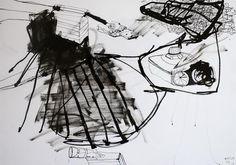 Apollo 44 - Kunstner, Kunstmaler, Illustrator, Thomas Dausell, Illustration, Abstrakt, Arkitektur, Bygninger, Grafisk, : www.artunika.dk / www.artunika.com Apollo 44 - En original illustration af Thomas Dausell...