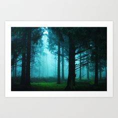 Wonderland forest Art Print by Eva Velt - $17.68