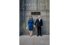jessica + dan's chicago courthouse wedding — Boldt Collective