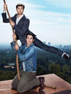 Hollywood Mavericks: Chris Messina and Andrew Rannells.