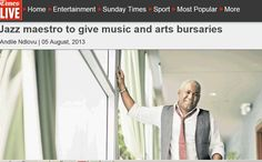 #timeslive - 5 August 2013 August 2013, Home Entertainment, Butler, Jazz, Tours, Entertaining, Music, Musica, Musik