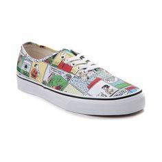 a4427ef403ef80 Vans Authentic Peanuts Comic Strip Skate Shoe - Multi - 497151 Athletic  Wear