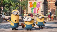 You can now use Minion speak on your voice remote! Try saying Booya! #ad