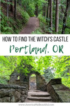 to Find the Witch's Castle in Portland, Oregon Where to go to find one of Portland's spookiest sights!Where to go to find one of Portland's spookiest sights! Oregon Vacation, Oregon Road Trip, Oregon Travel, Travel Usa, Portland Oregon Hikes, Solo Travel, Vacation Places, Travel Tips, Oregon Coast Roadtrip