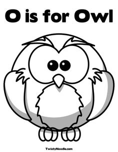 Love this site...  Tons of great coloring pages for kids!!  and I LOVE this Owl!!! :)
