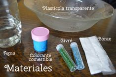 Como hacer masa gelatinosa para niños | Tarjetas Imprimibles Masa Slime, Art Therapy, Amanda, Summer, Crafts To Sell, Infant Crafts, Jelly Beans, Paint Buckets, Summer Time