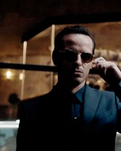 Moriarty...I was still screaming at this point
