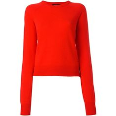 Equipment cashmere jumper (3 490 SEK) ❤ liked on Polyvore featuring tops, sweaters, red, cashmere tops, red cashmere sweater, red sweater, red top and cashmere jumpers