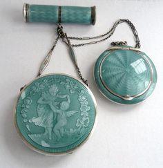 Tango Compact silver and enamel