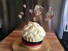 Porsche giant cupcake