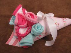 Baby Shower Gift...Washcloth Bouquet