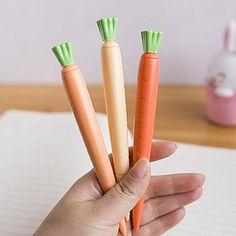 carottes en forme de stylo gel d'encre noire (1 pcs) – EUR € 1.99