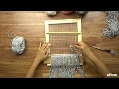 How to Weave a Basic Wall Hanging - YouTube