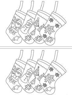 Christmas Worksheets Kindergarten, Worksheets For Kids, Christmas Colors, Kids Christmas, Christmas Crafts, Preschool Activities, Activities For Kids, Christmas Cards Drawing, Vbs Crafts