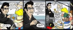 """The comic strip that shows you how it really went down. 