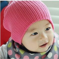 Baby & Children's Ribbed Beanies