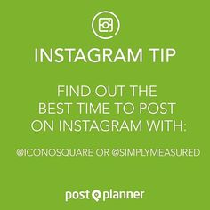 Nice post from @postplanner... Finding the right times can make a huge difference to how your posts perform...#marketing #marketingtips #marketingadvice #smm #socialmedia #socialmediamarketing #socialmediatip #marketingtips #marketingtips #business #content #contentmarketing #b2b #quote #quotes #quoteoftheday #socialmedialife #socialmediamanager #socialmediamarketing #socialmediamanagement #marketinglife #marketer #digitalmarketing #socialrecruiting #business #b2b #work #socialmedialife