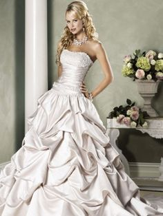 Maggie Sottero (Brielle) Color Diamond/White  Onewed