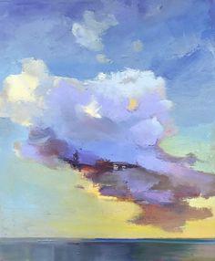 Holly Ready . Cloud . oil on canvas, 24x20