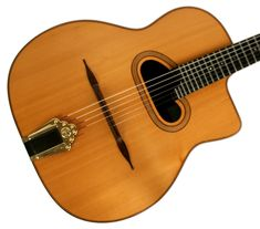 Archtop Guitar, Guitars, Gypsy Jazz, Living Legends, Jeans, Guitar Building, Stone, Guitar, Denim