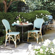 Best Small Outdoor Tables & Chairs:  Paris Bistro, Lacko, Eames & 5 More — Maxwell's Daily Find 04.24.15
