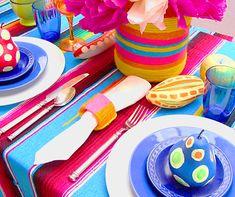 Fiesta Mexicana para niños decoración de las mesas Mexican kids party sweet table decoration miraquechulo