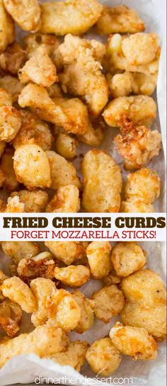 Fried Cheese Curds just like at your local state fair without the lines, dirt or. Fried Cheese Curds just like at your local state fair without the lines, dirt or crazy expensive prices. Forget plain old fried mozzarella sticks! Deep Fried Cheese Curds, Cheese Fries, Fried Cheese Sticks, A&w Cheese Curds Recipe, State Fair Cheese Curds Recipe, Squeaky Cheese Recipe, Cheese Sticks Recipe, Appetizer Recipes, Snack Recipes