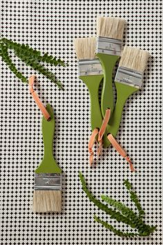 paint brushes for each guest to uncover the dino fossils in sand pits!