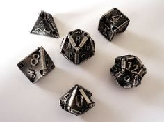 Stretcher Dice Set by ceramicwombat on Shapeways. Learn more before you buy, or discover other cool products in Dice. Game Master, New Fantasy, D&d Dungeons And Dragons, Dice Games, Tabletop Rpg, Shadowrun, Game Pieces, Nerd Geek, Pen And Paper