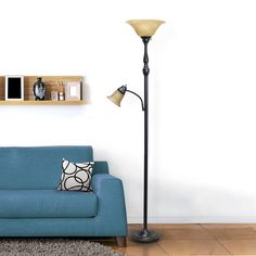 Swing Arm Floor Lamp, Floor Lamp Base, Ikea, Traditional Floor Lamps, Torchiere Floor Lamp, Lamp Sets, Home Lighting, Home Accents, Glass Shades