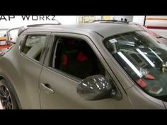 Matte Metallic Charcoal Nissan Juke by Wrap Workz Hong Kong - YouTube